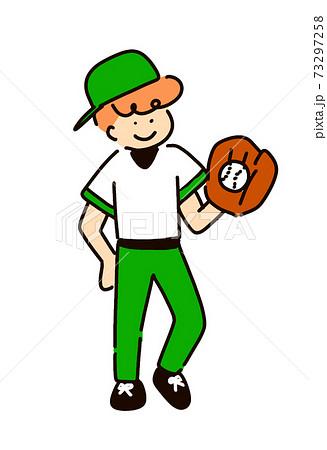 野球をする男の子 73297258