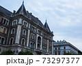 ハンガリー ブダペストのペシュト地区の街並 73297377