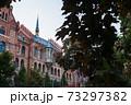 ハンガリー ブダペストのブダ城地区の教会 73297382