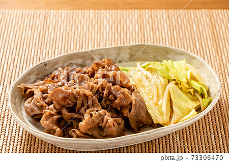 焼肉(国産黒毛和牛肩ロース・たれ焼き)。 73306470