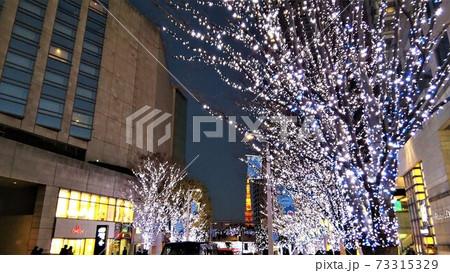 都内のクリスマスイルミネーション 73315329