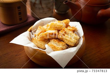 おかきでおやつ 揚げおかき 米菓 煎餅 お菓子 おやつ 揚げもち 73347813