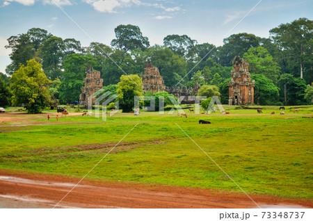カンボジア アンコール・トム周辺の風景 73348737