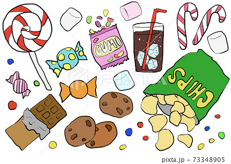 海外っぽいお菓子セット 73348905