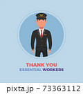 Plane pilot thanks essential workers 73363112
