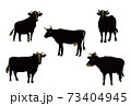 牛のイラスト 73404945