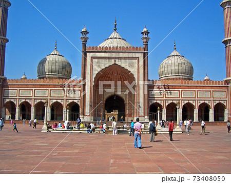 ムガル帝国の遺産金曜モスク(ジャーマーマスジット) 73408050