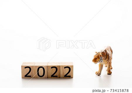 年賀素材 2022 73415878