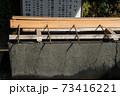 千葉県の「検見川神社」へ初めて初詣に行ってきた 73416221