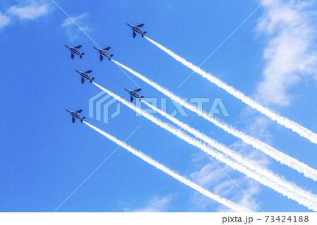 ブルーインパルス 航空自衛隊 戦闘機 飛行機 入間基地 73424188