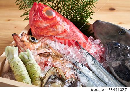 鮮魚盛り合わせ 73441027