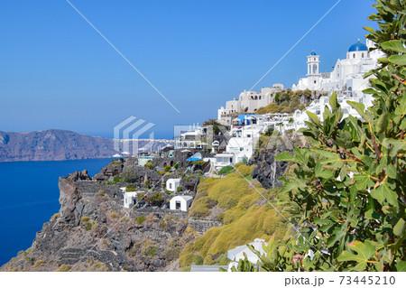【ギリシャ】サントリーニ島イメロヴィグリの街 73445210