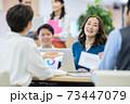 コワーキングスペース 会社員 ビジネスイメージ ベンチャー企業 73447079