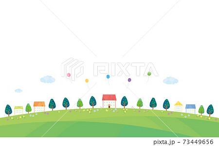 素材-住宅イメージ(2021)白バック5 73449656