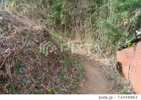 弘法山公園・吾妻山コースの登山口(鶴巻温泉側) 73449963