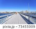 【神奈川県】真っ直ぐ伸びる江の島大橋 73455009