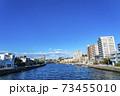 【神奈川県】江ノ島の海につながる境川 73455010