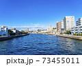 【神奈川県】江ノ島の海につながる境川 73455011