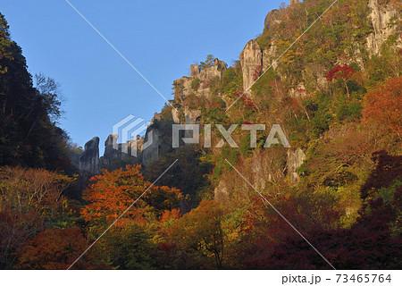 秋の深耶馬溪・一目八景からの眺め 73465764