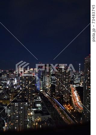 港区浜松町にある世界貿易センタービルディングからの夜景  73483745
