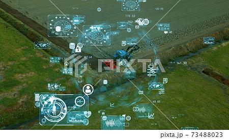 農業とテクノロジー アグリテック 73488023