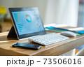 テレワーク パソコン デスク ローテーブル 在宅勤務 73506016