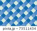 チェックパターン寒色 73511434