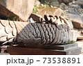 龍デザインの水道 龍頭部2(ワット・プー寺院) 73538891