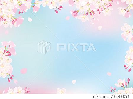 桜 背景イラスト 73543851