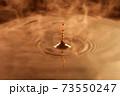水滴の波紋 ブラウン コーヒー 73550247