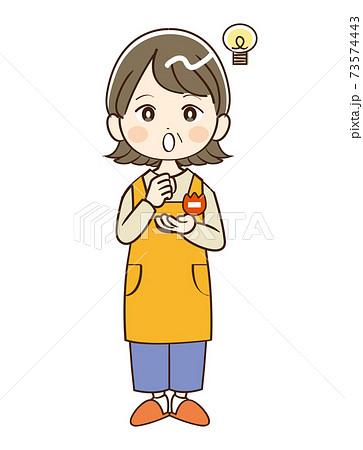 女性 ミドル 幼稚園 先生 閃く 73574443
