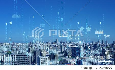 都市とテクノロジー デジタルトランスフォーメーション 73574655
