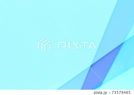 青色系抽象的背景 ライン・枠・フレーム 73579465