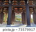 京都・東福寺の三門の柱、特別公開 73579917
