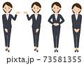 パンツスーツ女性2-1 73581355