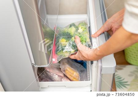 冷凍保存しているブロッコリー 73604850