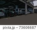 ショッピングモールの立体駐車場に停まっている車 73606687