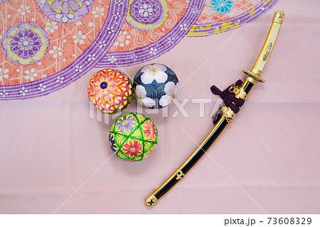 鞠と刀 73608329