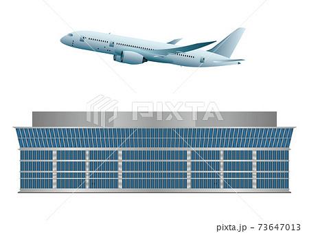 空港と飛行機 73647013