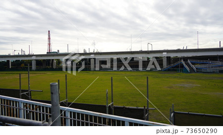横浜、本牧市民プール取り壊し跡地 73650290