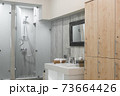 interior of the shower room 73664426