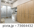 interior of the shower room 73664432