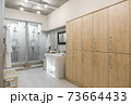 interior of the shower room 73664433