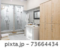 interior of the shower room 73664434