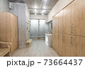 interior of the shower room 73664437