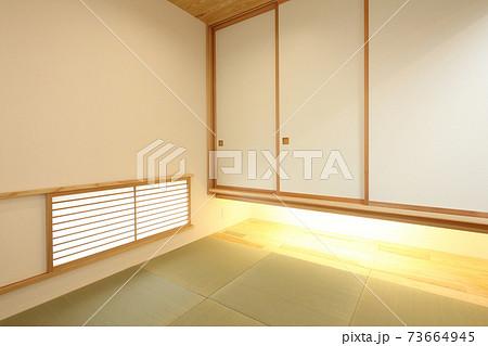 お洒落な和室 イメージ 73664945