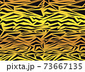 虎柄 グラデーション 73667135