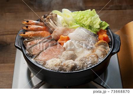 海の幸たっぷり美味しい海鮮寄せ鍋 73668870