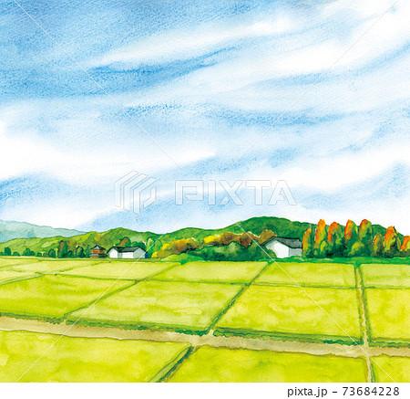田園風景 73684228