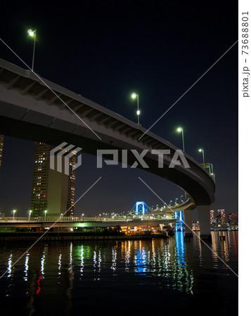 有明北緑道公園からの夜景(2020年12月) 73688801